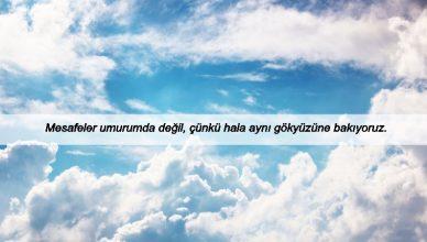 Gökyüzü İle İlgili Sözler