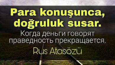Rusça Güzel Sözler
